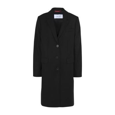 カルバン クライン CALVIN KLEIN コート ブラック 38 ウール 70% / ナイロン 30% コート