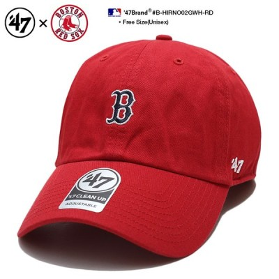 フォーティーセブンブランド 47BRAND ローキャップ 帽子 ボストン レッドソックス MLB公式 赤