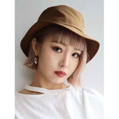 EMODA / ナイロンコンパクトバケットハット WOMEN 帽子 > ハット