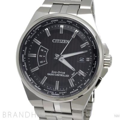 シチズン コレクション 腕時計 メンズ エコドライブ ワールドタイム電波時計 針表示式ダイレクトフライト CB0161-82E CITIZEN 未使用品