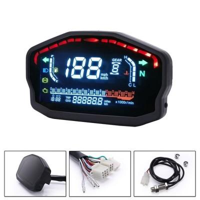 液晶スピードメーターデジタル4シリンダー オートバイ ユニバーサル LED