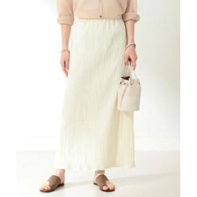 【アウトレット】Demi-Luxe BEAMS / ワッシャー タイトスカート