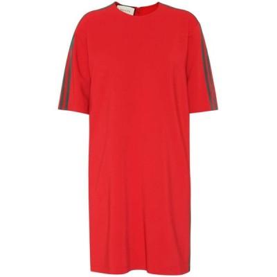 グッチ レディース ワンピース ワンピース・ドレス Stretch-jersey dress Flame
