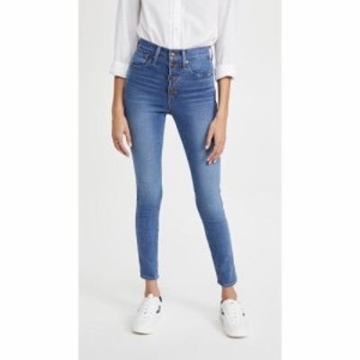 メイドウェル Madewell レディース ジーンズ・デニム ボトムス・パンツ 10 High Rise Skinny Button Front Jeans Dewitt Wash