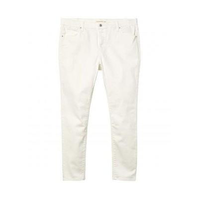 Levi's(R) Plus リーバイス レディース 女性用 ファッション ジーンズ デニム 721 High-Rise Skinny - White
