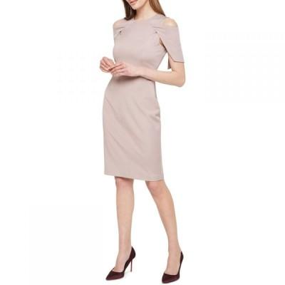 ダンセル Damsel in a Dress レディース ワンピース ワンピース・ドレス Nicola Cold Shoulder Fitted Dress Mink