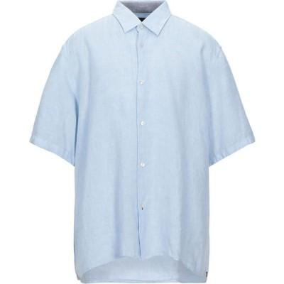 ヒューゴ ボス BOSS HUGO BOSS メンズ シャツ トップス Linen Shirt Sky blue