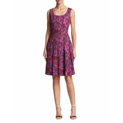 オスカーデラレンタ レディース ワンピース Floral Cotton A-line Dress