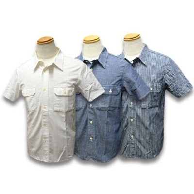 全3色TROPHY CLOTHING/トロフィークロージング2019SS「Harvest S/S Shirts/ハーベストショートスリーブシャツ」送料