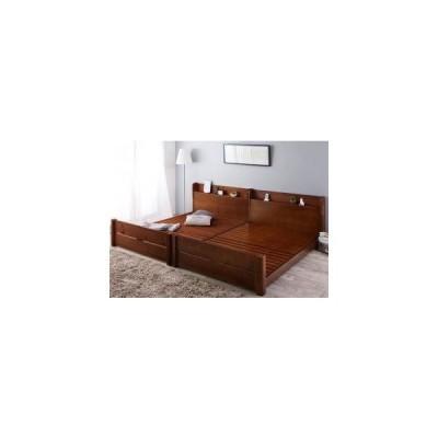 ベッドフレーム ベッド 家族の成長に合わせて高さ調節できる頑丈すのこファミリーベッド ベッドフレームのみ ワイドK200