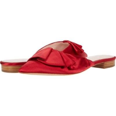 ケイト スペード Kate Spade New York レディース スリッポン・フラット シューズ・靴 Fayrn Mule Red