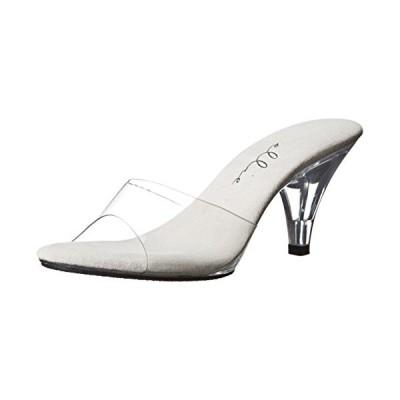 Ellie シューズ レディース 305 Vanity ドレス Sandal, Clear, 9 M US(海外取寄せ品)