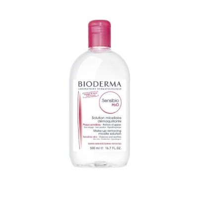 あすつく BIODERMA ビオデルマ サンシビオ H2O D 500ml クレンジング 敏感肌