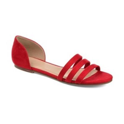 ジャーニーコレクション レディース サンダル シューズ Women's Gildie Flats Red