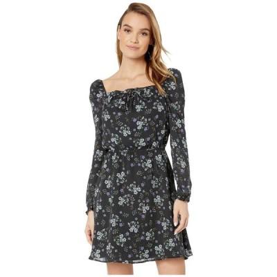 カップケーキアンドカシミア レディース ワンピース トップス Elsie 'Meadow Floral' Square Neck Dress