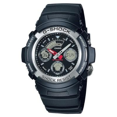 取寄品 CASIO腕時計 カシオ G-SHOCK ジーショック アナデジ アナログ&デジタル AW-590-1AJF 人気モデル メンズ腕時計 送料無料