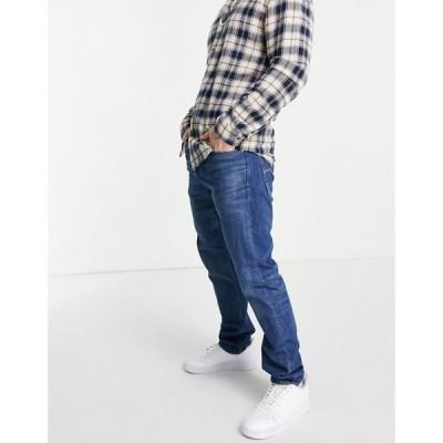 ジースター ロゥ G-Star メンズ ジーンズ・デニム ボトムス・パンツ Alto high waisted straight fit jeans in midwash グレー