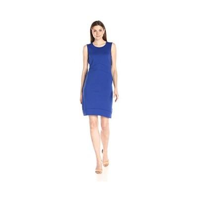Lark & Ro レディース Sleeveless Scoopneck Bodycon ドレス, コバルト, X-ラージ(海外取寄せ品)