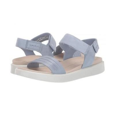 ECCO エコー レディース 女性用 シューズ 靴 サンダル Flowt Strap Sandal - Dusty Blue/Dusty Blue Cow Leather/Cow Nubuck