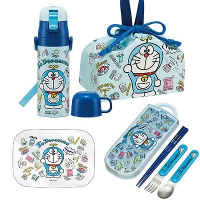 送料無料 ドラえもん I'm Doraemon アルミお弁当箱 370ml トリオ 巾着 水筒 お買得4点セット
