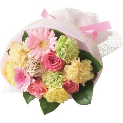 母の日 ギフト 花 植物 グリーン 花束 ハッピーママン ブーケかわいい