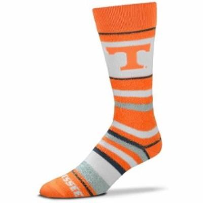 For Bare Feet フォー ベア フィート スポーツ用品  For Bare Feet Tennessee Volunteers Womens Soft Stripe Quarter-Length Socks