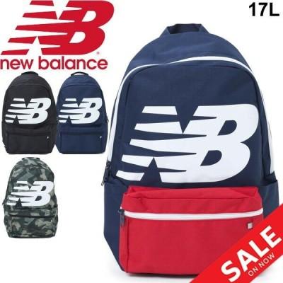 リュック デイパック ニューバランス Newbalance ロゴバックパック 17L スポーツバッグ メンズ レディース ビッグロゴ カジュアル かばん 鞄/JABL9403