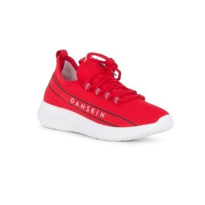 ダンスキン スニーカー シューズ レディース WINNER Lace Up Sneaker with Logo Detail Red