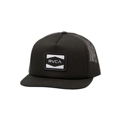 帽子 ルカ RVCA Injector Trucker Hat ブラック Snap Back Cap