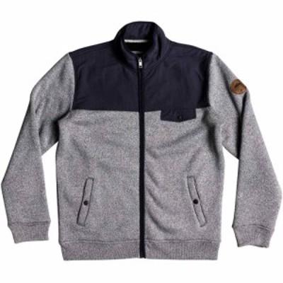 クイックシルバー Quicksilver メンズ フリース トップス Keller Zip-Up Polar Fleece Grey