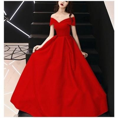 ロングドレス 演奏会 パーティードレス ウェディングドレス 結婚式 二次会 花嫁ドレス 大きいサイズ パーティー ロングドレス イブニングドレス ノースリーブ