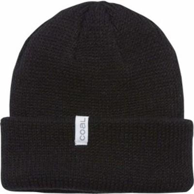 コール Coal Headwear メンズ ニット ビーニー 帽子 Frena Solid Beanie Black