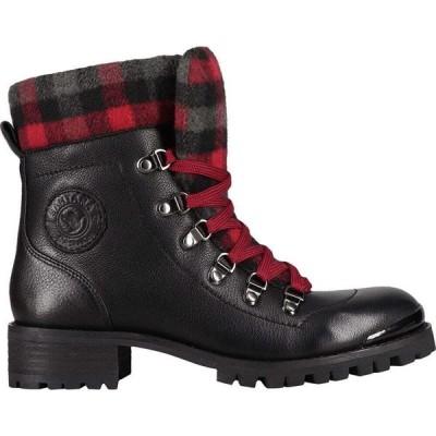 サンタナカナダ Santana Canada レディース ブーツ シューズ・靴 Niko Boot Black/Plaid