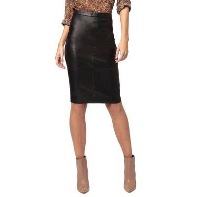 エーエスバイディーエフ レディース スカート ボトムス Port Elizabeth Leather Skirt
