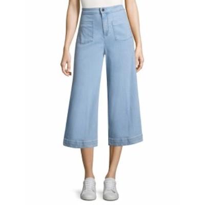 アリス+オリビア レディース パンツ デニム Johnny Front Patch Pocket Ankle Jean