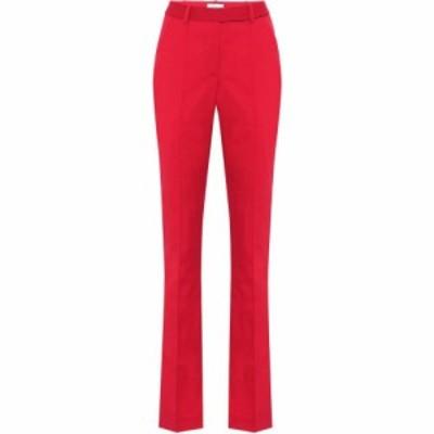 レベッカ ヴァランス Rebecca Vallance レディース スキニー・スリム ボトムス・パンツ rossini high-rise slim pants Red