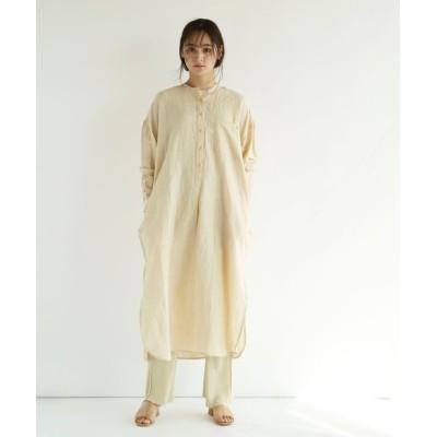 【フィーカ】 TODAYFUL Chambray Stripe Dress レディース アイボリーP S FIKA.