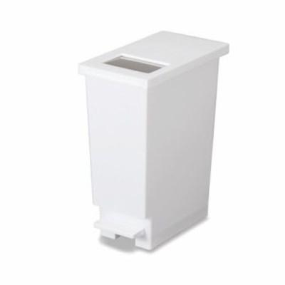 ユニード ゴミ箱 プッシュ ペダル ペール ホワイト 20L (270806)