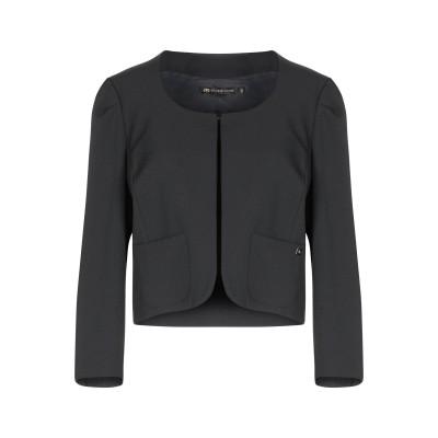 DIVEDIVINE テーラードジャケット ブラック 46 ポリエステル 96% / ポリウレタン 4% テーラードジャケット