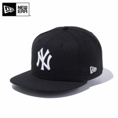 【メーカー取次】 NEW ERA ニューエラ 9FIFTY ニューヨーク・ヤンキース ブラックXホワイト 12336621 キャップ 夏新作 夏物【Sx】