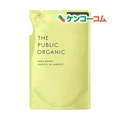 ザパブリックオーガニック スーパーバウンシー DM シャンプー 詰替 ( 400ml )/ ザ パブリックオーガニック(THE PUBLIC ORGANIC)