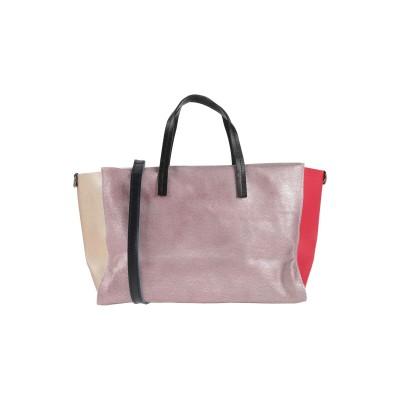 EBARRITO メッセンジャーバッグ ピンク 革 メッセンジャーバッグ