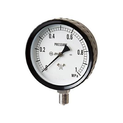 右下精器製造 右下 ステンレス圧力計 G211−161−0.4MP 1個 (メーカー直送)