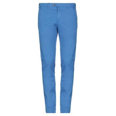 B SETTECENTO パンツ ターコイズブルー 32 コットン 97% / ポリウレタン 3% パンツ