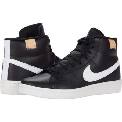 ナイキ Nike メンズ スニーカー シューズ・靴 Court Royale 2 Mid Black/White