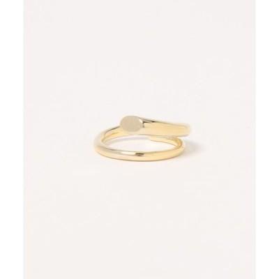 指輪 アシンメトリーデザインリング