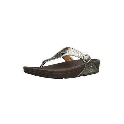 フィットフロップ サンダル ビーチサンダル 018062  11B FitFlop レディース The Skinny Croc   Bronze