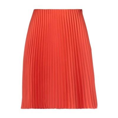 セオリー THEORY ひざ丈スカート オレンジ 2 ポリエステル 100% ひざ丈スカート