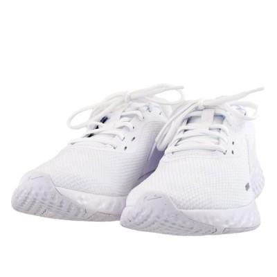 メンズ 靴 スニーカー ナイキ レボリューション5 ホワイト/ホワイト NIKEBQ3204-103