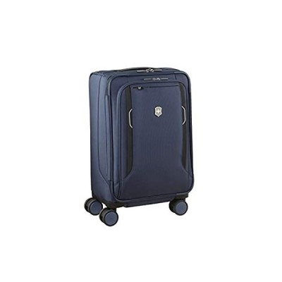 Victorinox WT 6.0 Softside Spinner Luggage, Blue, Expandable Carry-On, Freq